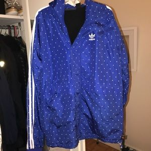 Pharrell Williams x Adidas Rain Jacket Small